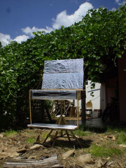 Protótipo 2 Forno solar de insolação dupla