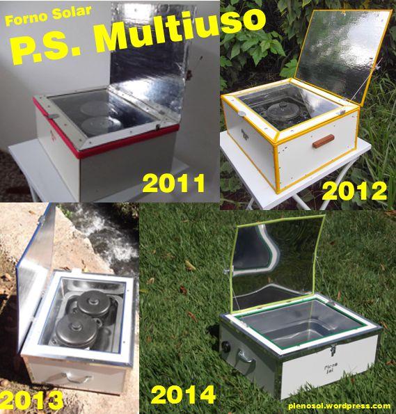 Forno Solar P.S.Multiuso evolução