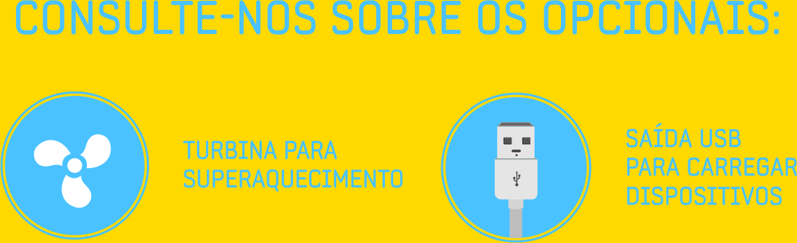 Opcionais USB-Turbo
