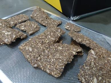 Cracker de chia